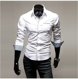 Shirt Nms310 S Color : White