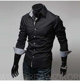 Shirt Nms314 S Color : Black