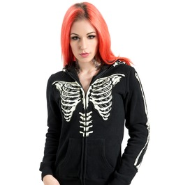 Jawbreaker Heartless Ribcage X Ray Hoodie