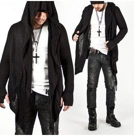 Avant Garde Super Unique Assassin Creed Hoodie/Cardigan (Black)