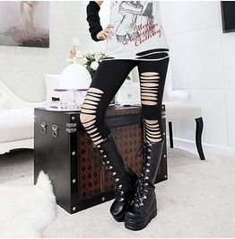 Thigh High Lace Thick Wedge Heel Boots