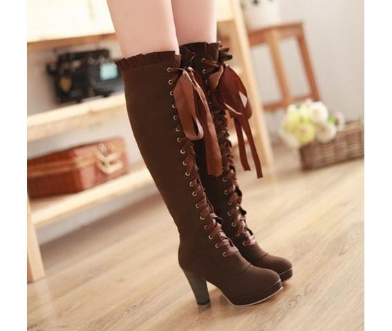 knee_high_lace_ribbon_thick_high_heel_boots_booties_5.JPG