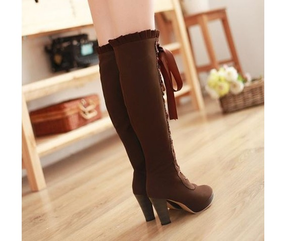 knee_high_lace_ribbon_thick_high_heel_boots_booties_4.JPG
