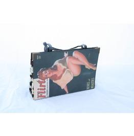 Flirt Rockabilly Pinup Book Purse