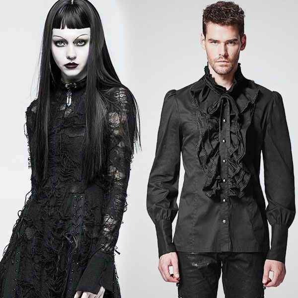 Black Edging Jacket Slim Hipster Male Personality Gothic Cloak Robes Good Taste Men's Clothing Jackets & Coats