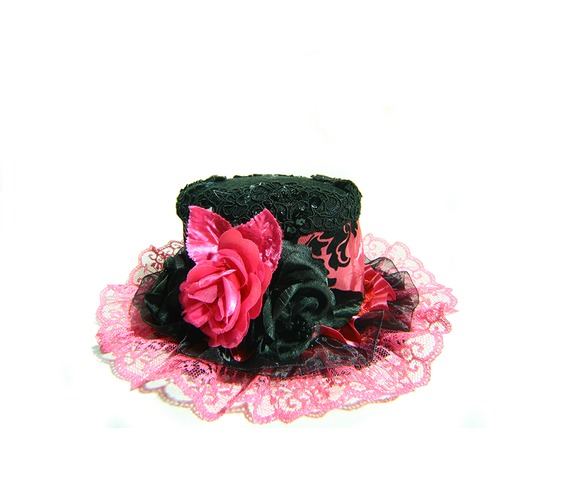 damask_mini_top_hat_hot_pink_hats_and_caps_4.jpg