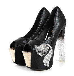 Frosted Heel Pussycat Shoe