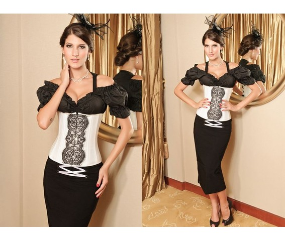 sexy_black_white_front_pattern_bustier_corset_bustiers_and_corsets_4.JPG
