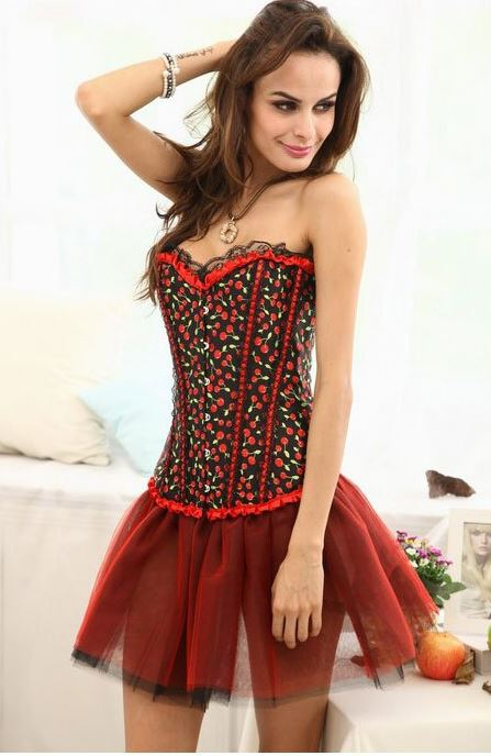 sexy_strapless_lace_trimming_printed_bustier_corset_bustiers_and_corsets_3.JPG