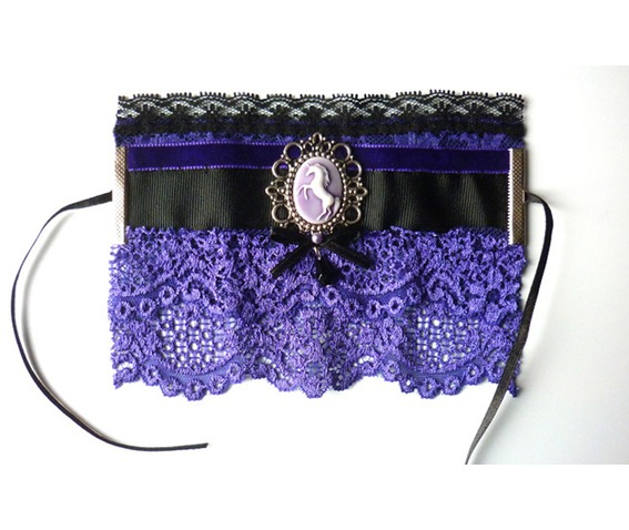 unicorn_cuff_bracelet_purple_black_gothic_victorian_wedding_dark_mori_bracelets_4.JPG