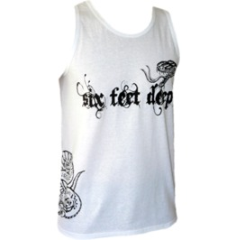 Death By Venom Men's Tank Top / Muscle Tee; White