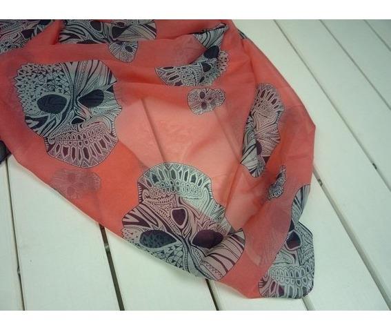 orange_skull_chiffon_scarf_scarves_2.JPG