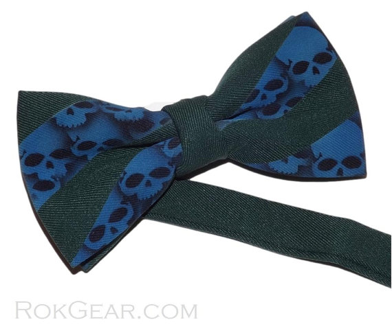 mens_skull_bow_tie_hunter_green_blue_adjustable_collar_band_bow_tie_ties_and_neckwear_4.jpg