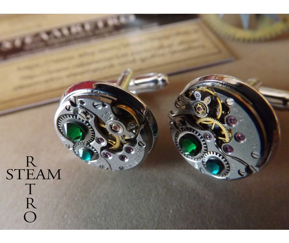 gift_boxed_mens_steampunk_steampunk_cufflinks_green_16mm_round_vintage_chaika_watch_movements_vintage_upcycled_mens_cuff_links_cufflinks_2.jpg