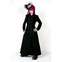 Goddess Coat Floor Length Fully Lined Ladies Steam