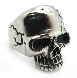 Gothic Skull Ring Biker Ring Gothic Jewelry