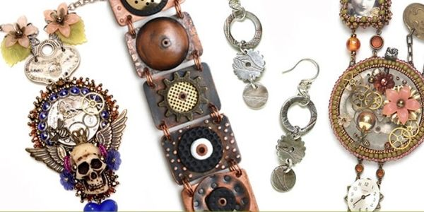 13 Of The Best Steampunk Earrings On RebelsMarket