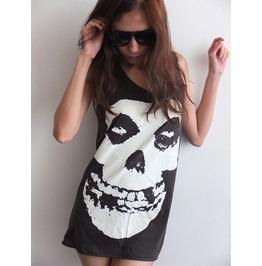 Punk Goth Skull Classic Gothic Rock Tank Top M