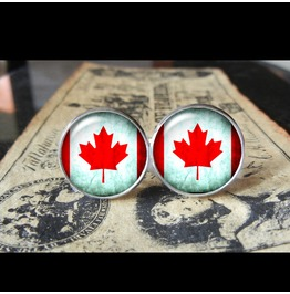 Canada Flags World Collection World Cup Fifa Cuff Links Men,Weddings,Groomsmen,Grooms,Dads,Gifts