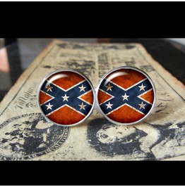 Confederate Flags World Collection Cuff Links Men,Weddings,Groomsmen,Grooms,Dads,Gifts