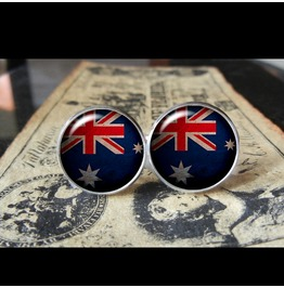 Australia Flags World Collection Fifa World Cup Cuff Links Men,Weddings,Groomsmen,Grooms,Dads,Gifts