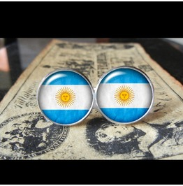 Argentina Flags World Collection Fifa World Cup Cuff Links Men,Weddings,Groomsmen,Grooms,Dads,Gifts