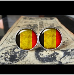 Belgium Flags World Collection Fifa World Cup Cuff Links Men,Weddings,Groomsmen,Grooms,Dads,Gifts