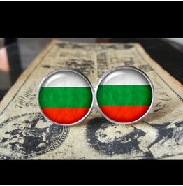Bulgaria Flags World Collection Fifa World Cup Cuff Links Men,Weddings,Groomsmen,Grooms,Dads,Gifts