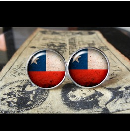 Chile Flags World Collection Fifa World Cup Cuff Links Men,Weddings,Groomsmen,Grooms,Dads,Gifts