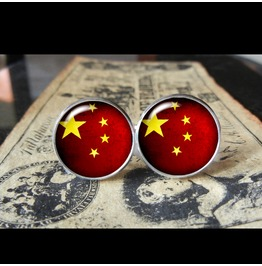 China Flags World Collection Fifa World Cup Cuff Links Men,Weddings,Groomsmen,Grooms,Dads,Gifts