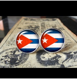 Cuba Flags World Collection Fifa World Cup Cuff Links Men,Weddings,Groomsmen,Grooms,Dads,Gifts