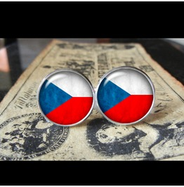 Czech Republic Flags World Collection Fifa World Cup Cuff Links Men,Weddings,Groomsmen,Grooms,Dads,Gifts