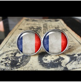 France Flags World Collection Fifa World Cup Cuff Links Men,Weddings,Groomsmen,Grooms,Dads,Gifts
