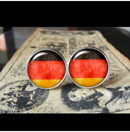 Germany Flags World Collection Fifa World Cup Cuff Links Men,Weddings,Groomsmen,Grooms,Dads,Gifts
