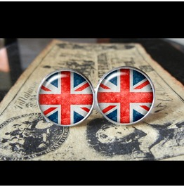 United Kingdom Flags World Collection Fifa World Cup Cuff Links Men,Weddings,Groomsmen,Grooms,Dads,Gifts