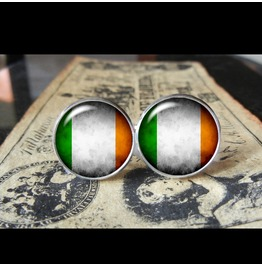 Ireland Flags World Collection Fifa World Cup Cuff Links Men,Weddings,Groomsmen,Grooms,Dads,Gifts