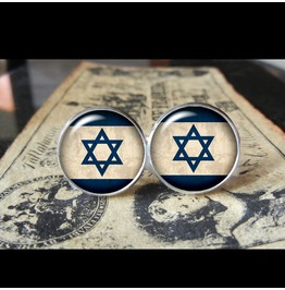 Israel Flags World Collection Fifa World Cup Cuff Links Men,Weddings,Groomsmen,Grooms,Dads,Gifts