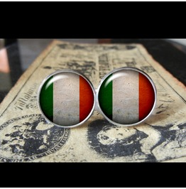 Italy Flags World Collection Fifa World Cup Cuff Links Men,Weddings,Groomsmen,Grooms,Dads,Gifts