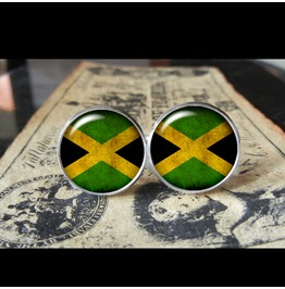 Jamaica Flags World Collection Fifa World Cup Cuff Links Men,Weddings,Groomsmen,Grooms,Dads,Gifts