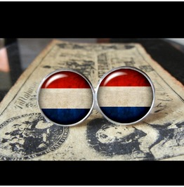 Netherlands Flags World Collection Fifa World Cup Cuff Links Men,Weddings,Groomsmen,Grooms,Dads,Gifts