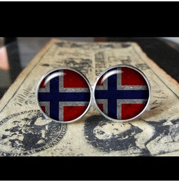 Norway Flags World Collection Fifa World Cup Cuff Links Men,Weddings,Groomsmen,Grooms,Dads,Gifts