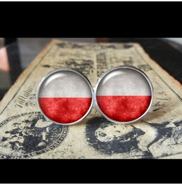 Poland Flags World Collection Fifa World Cup Cuff Links Men,Weddings,Groomsmen,Grooms,Dads,Gifts