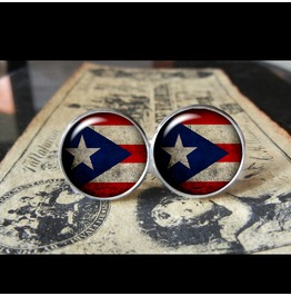Puerto Rico Flags World Collection Fifa World Cup Cuff Links Men,Weddings,Groomsmen,Grooms,Dads,Gifts