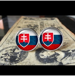 Slovakia Flags World Collection Fifa World Cup Cuff Links Men,Weddings,Groomsmen,Grooms,Dads,Gifts