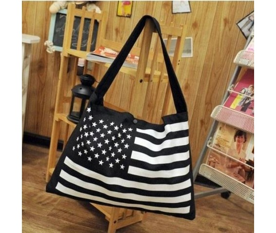 casual_stars_stripes_canvas_shoulder_handbag_purses_and_handbags_3.JPG