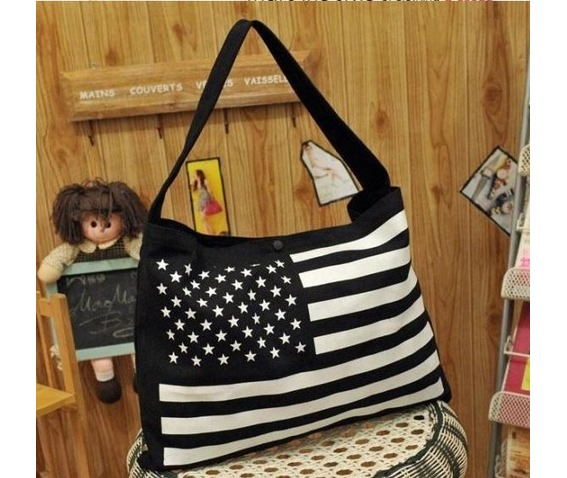 casual_stars_stripes_canvas_shoulder_handbag_purses_and_handbags_2.JPG