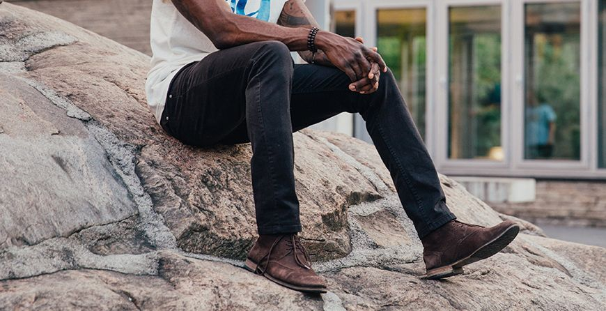 What shoes to Wear With Different Cuts Of Jeans For Men
