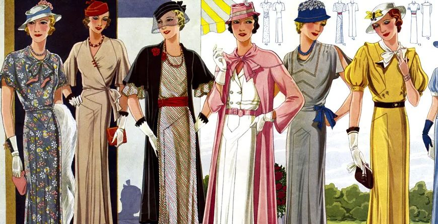 Fashion From the Past: All About 1930s Style