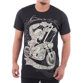 Addiction Tattoo Motorcycle Men T Shirt Plus Size S 3 Xl West Coast Chopper Biker