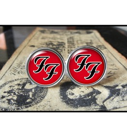 Music Bands Foo Fighters Ff Logo Cuff Links Men,Weddings,Groomsmen,Grooms,Dads,Gifts